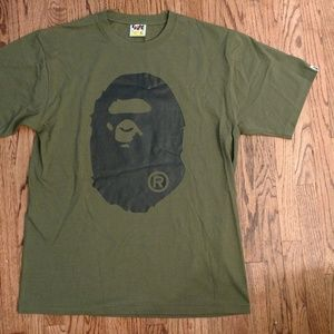 f372a3d3 Bape Shirts | Large Ape Head Olive Green Xl | Poshmark